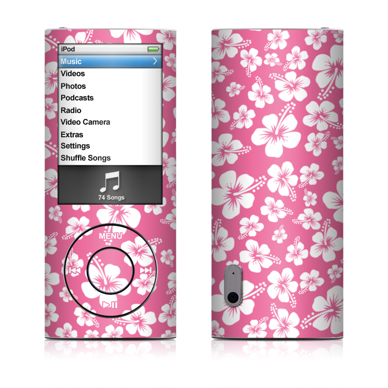Aloha Pink iPod nano 5th Gen Skin