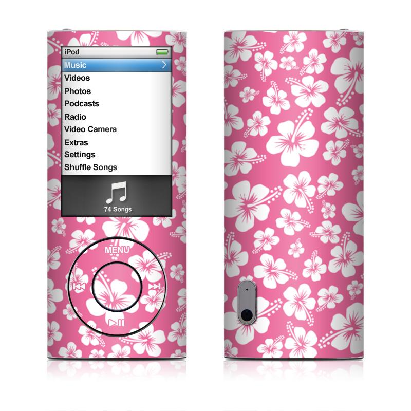 Aloha Pink iPod nano 5th Gen Skin