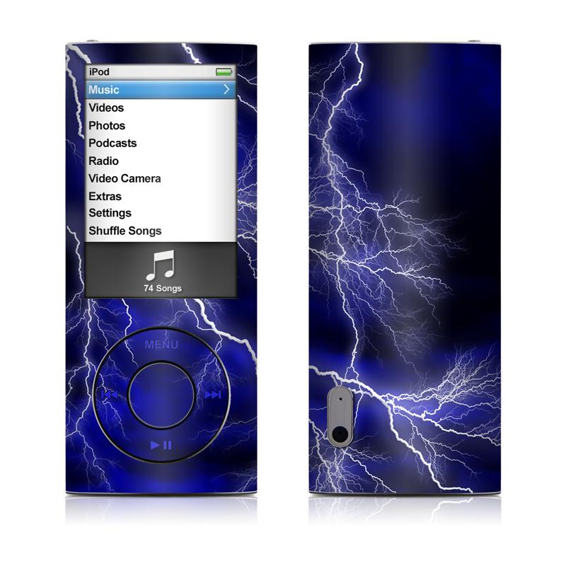 Apocalypse Blue iPod nano 5th Gen Skin