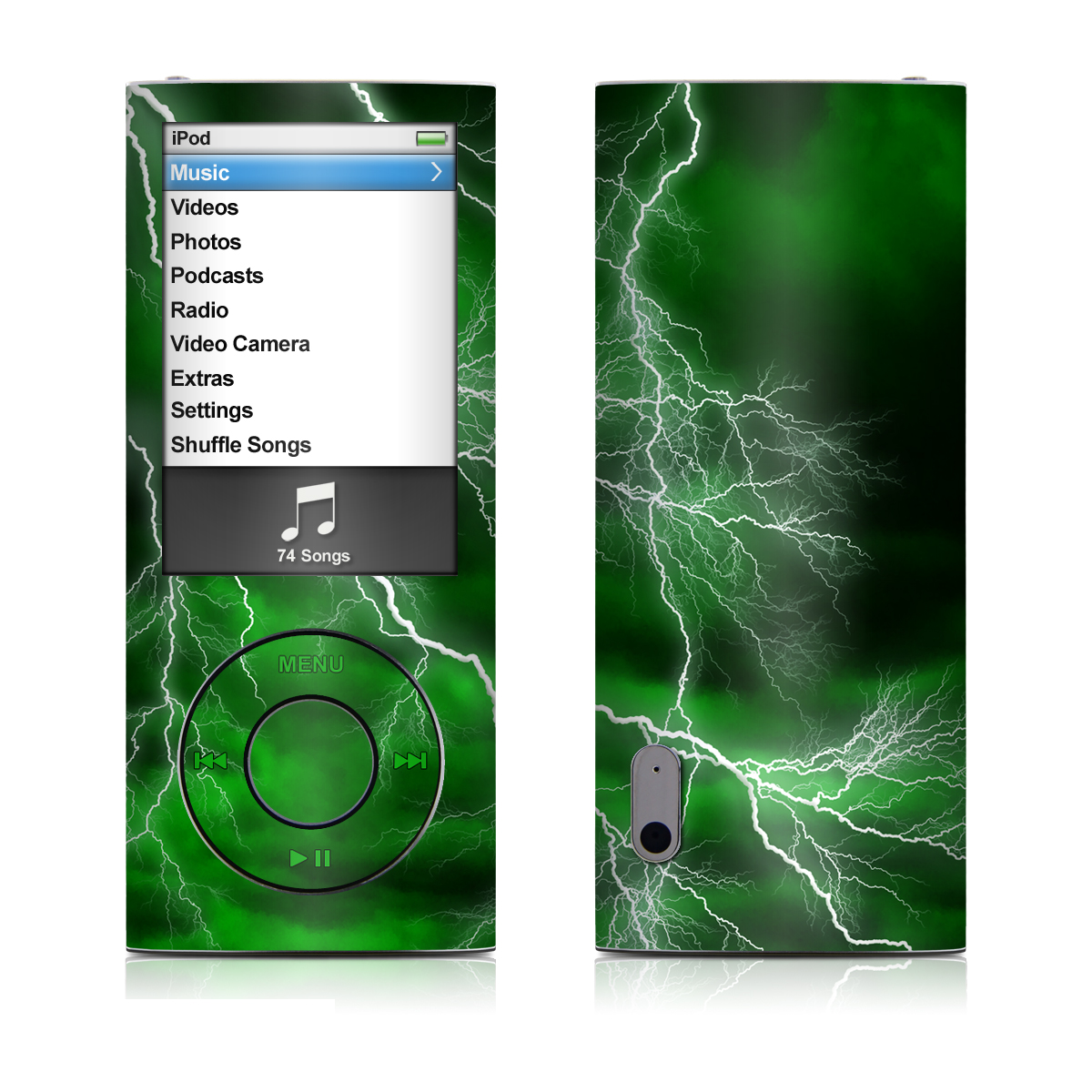 Apocalypse Green iPod nano 5th Gen Skin