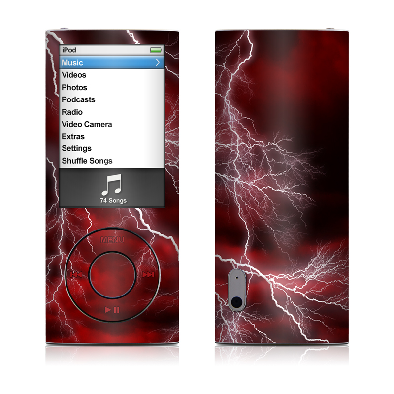Apocalypse Red iPod nano 5th Gen Skin
