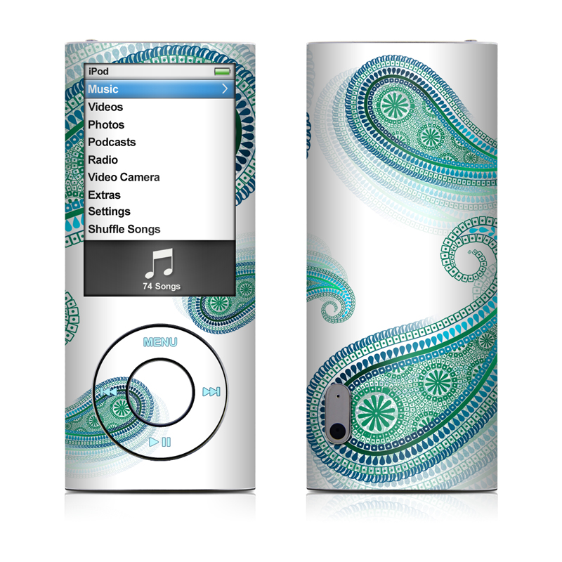 Azure iPod nano 5th Gen Skin