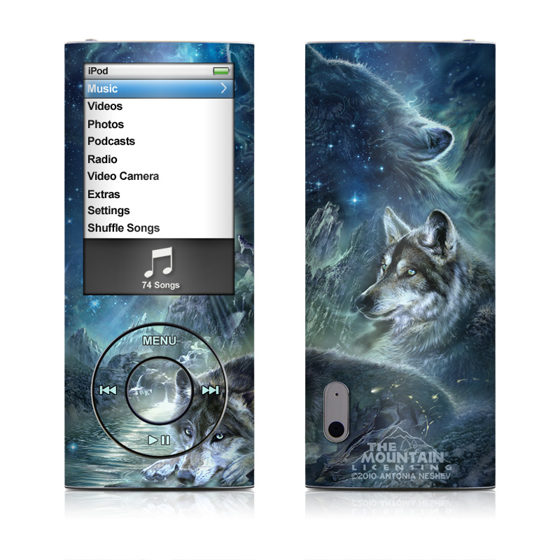Bark At The Moon iPod nano 5th Gen Skin