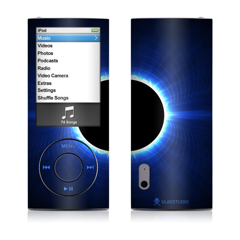 Blue Star Eclipse iPod nano 5th Gen Skin