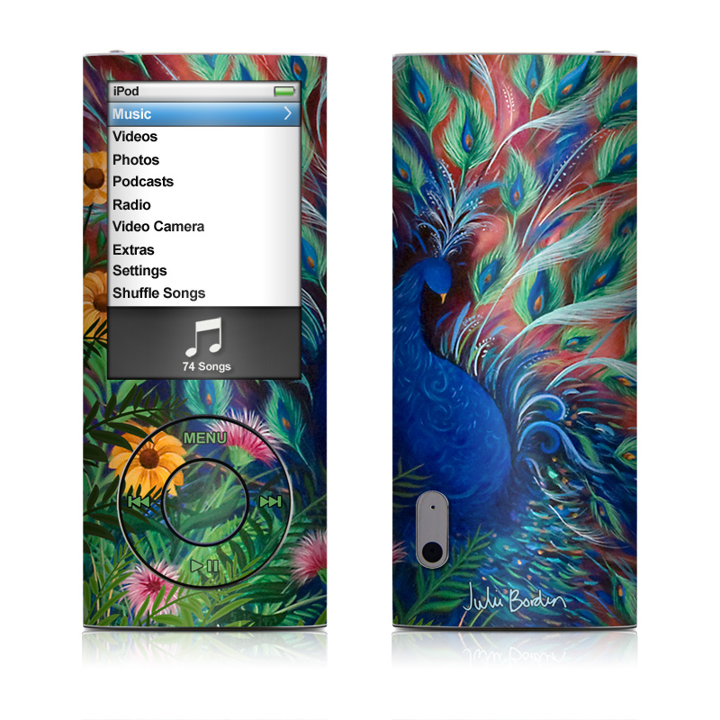 Coral Peacock iPod nano 5th Gen Skin
