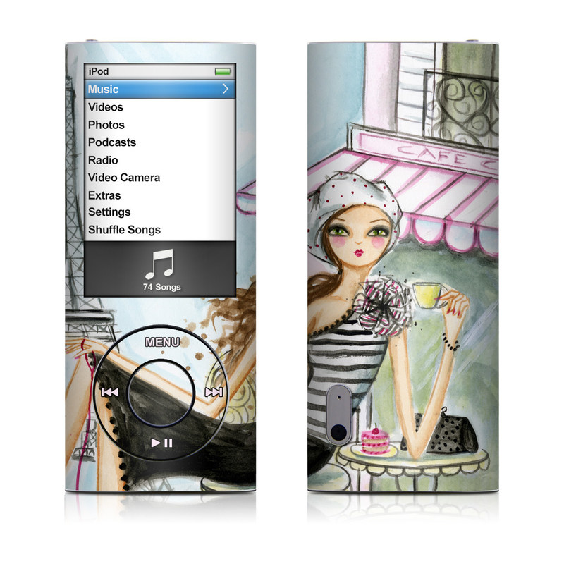 Cafe Paris iPod nano 5th Gen Skin