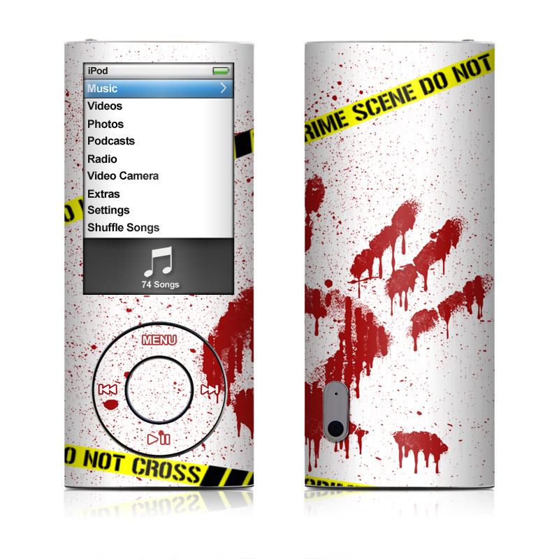 Crime Scene Revisited iPod nano 5th Gen Skin