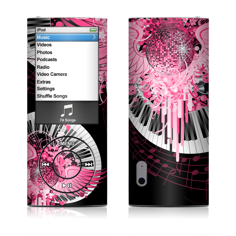 Disco Fly iPod nano 5th Gen Skin