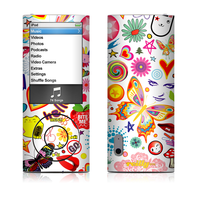 Eye Candy iPod nano 5th Gen Skin