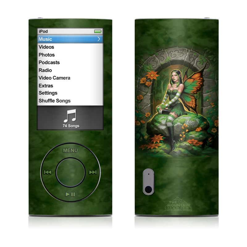 Jade Fairy iPod nano 5th Gen Skin