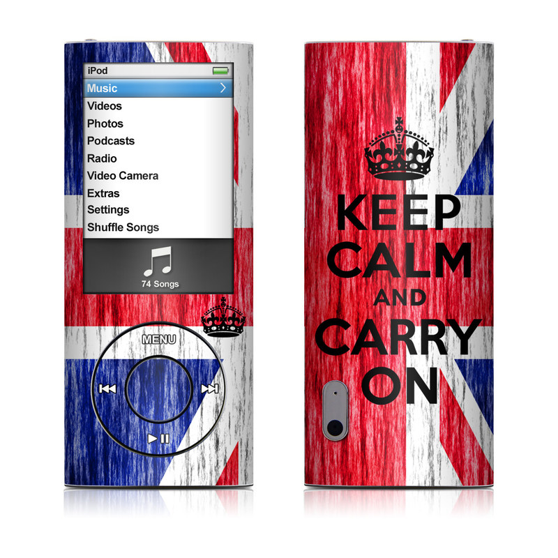 iPod nano 5th Gen Skin design of Flag, Blue, Red, Font, Text, Line, Flag of the united states, Graphic design, Pattern, Electric blue with red, blue, gray, white, black colors