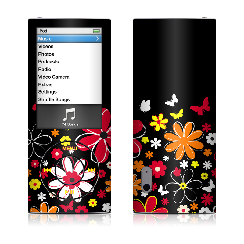 Laurie's Garden iPod nano 5th Gen Skin
