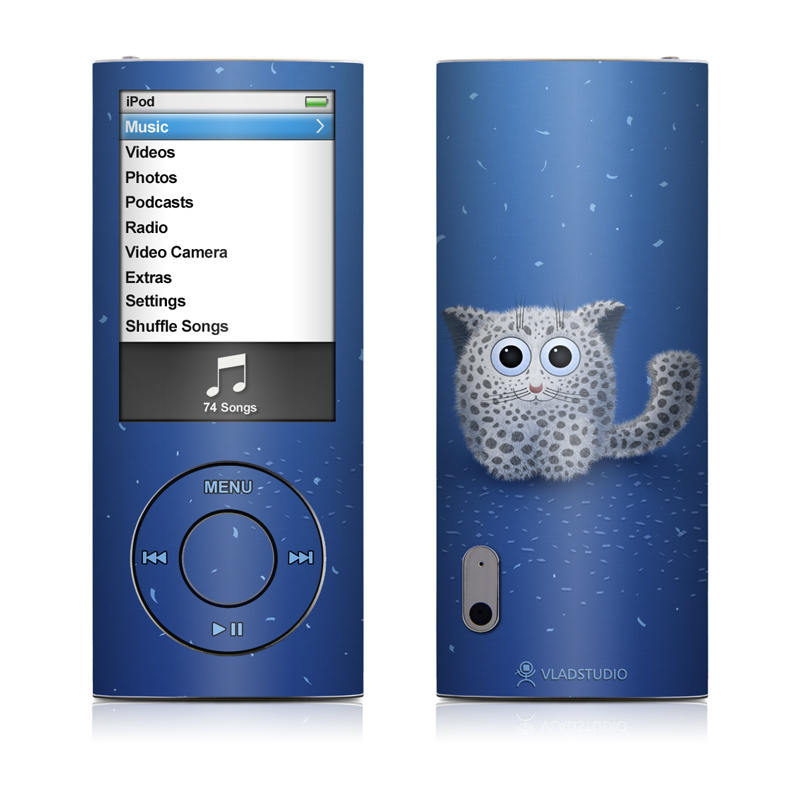 Snow Leopard iPod nano 5th Gen Skin