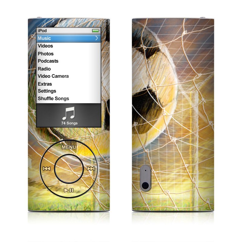 Soccer iPod nano 5th Gen Skin