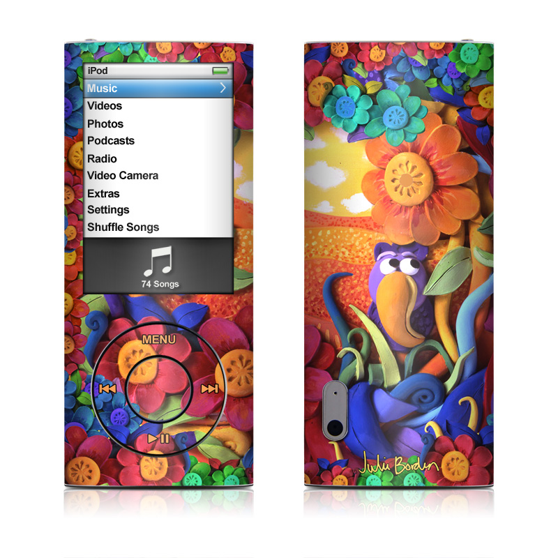 Summerbird iPod nano 5th Gen Skin
