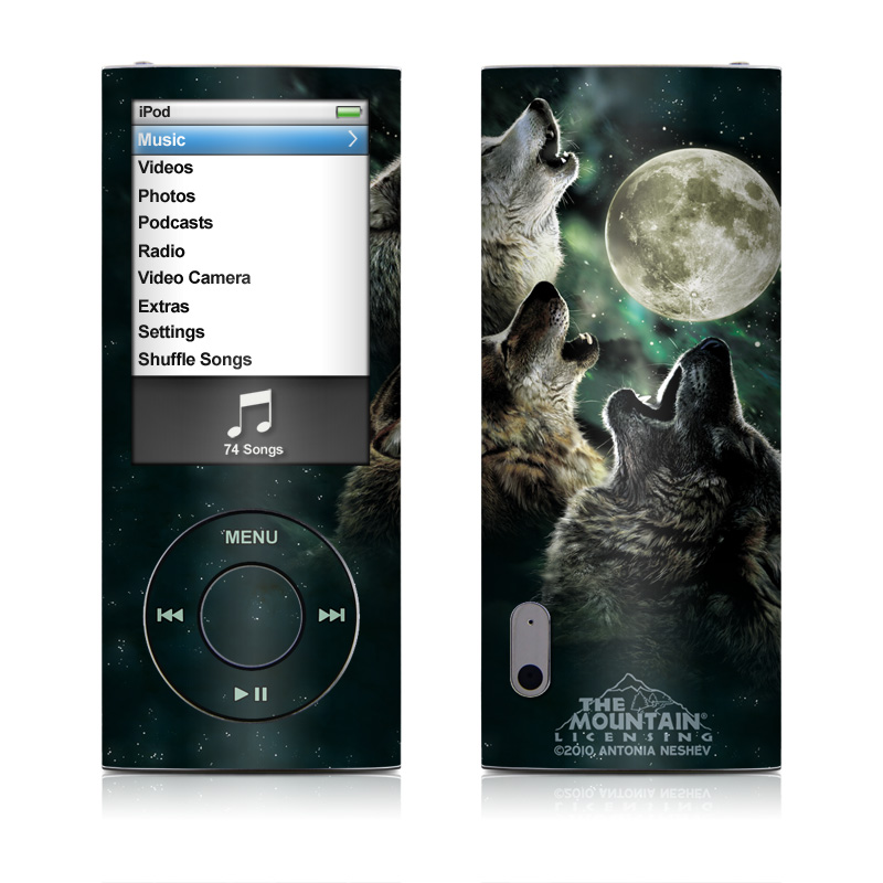 Three Wolf Moon iPod nano 5th Gen Skin