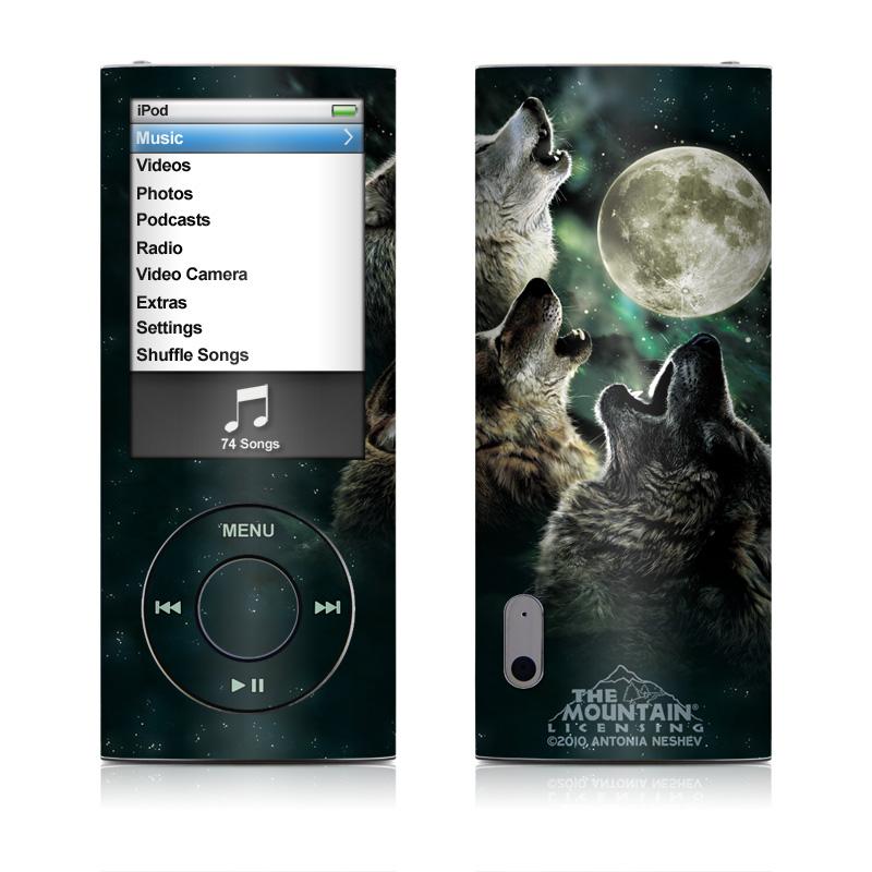 Three Wolf Moon iPod nano 5th Gen Skin