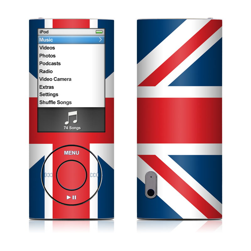 union jack ipod nano 5th gen skin istyles. Black Bedroom Furniture Sets. Home Design Ideas