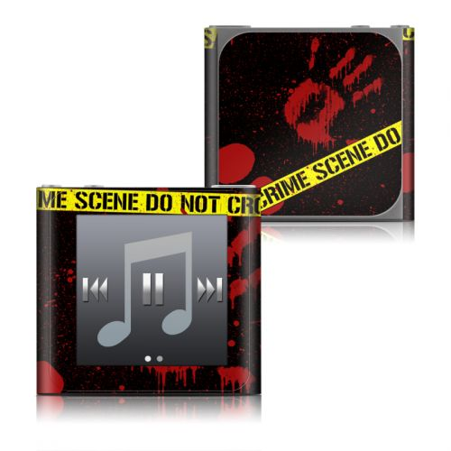 Crime Scene iPod nano 6th Gen Skin