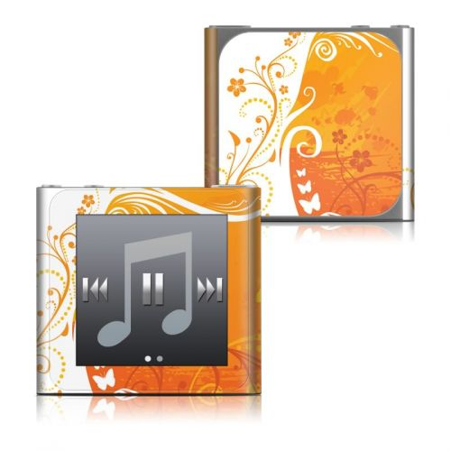 Orange Crush iPod nano 6th Gen Skin
