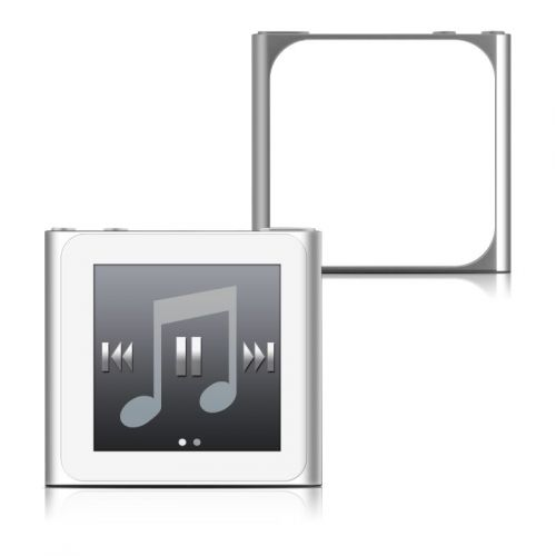 Solid State White iPod nano 6th Gen Skin