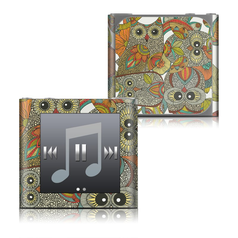 4 owls iPod nano 6th Gen Skin