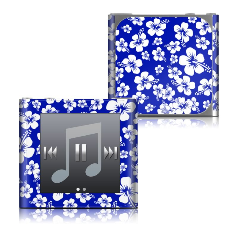 Aloha Blue iPod nano 6th Gen Skin