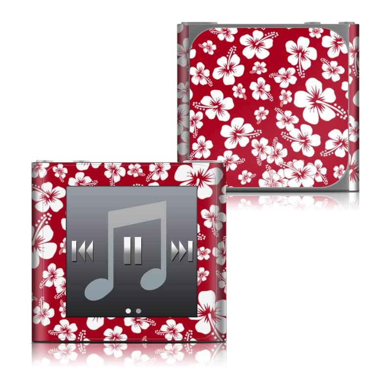 Aloha Red iPod nano 6th Gen Skin
