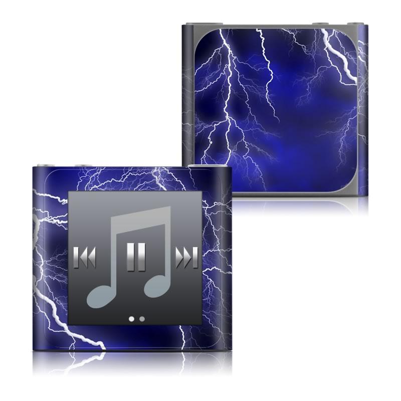 Apocalypse Blue iPod nano 6th Gen Skin