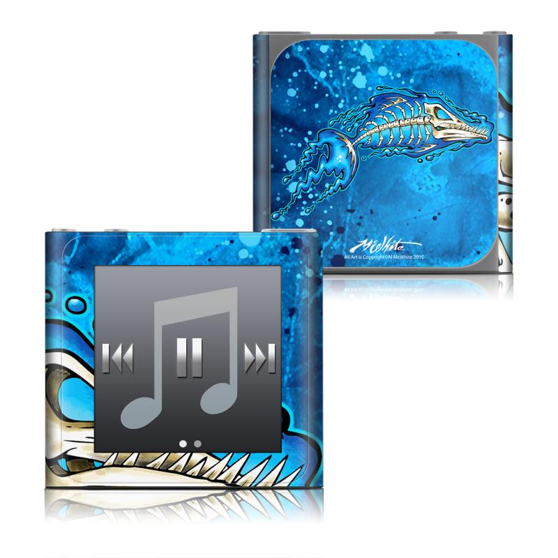 Barracuda Bones iPod nano 6th Gen Skin