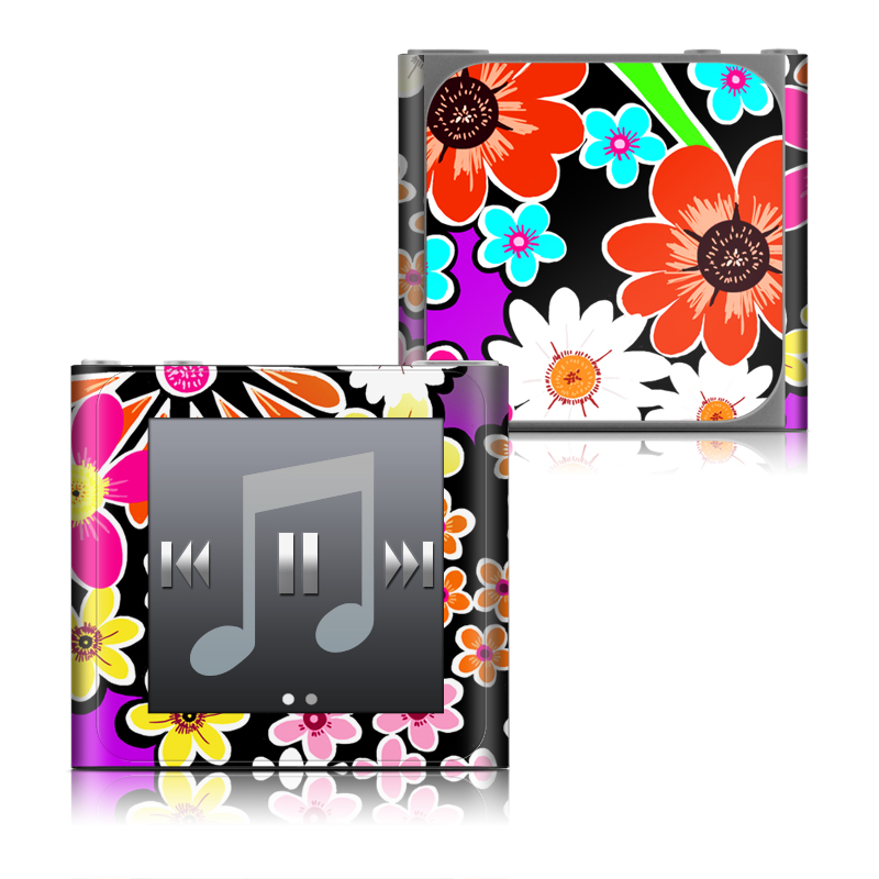 A Burst of Color iPod nano 6th Gen Skin