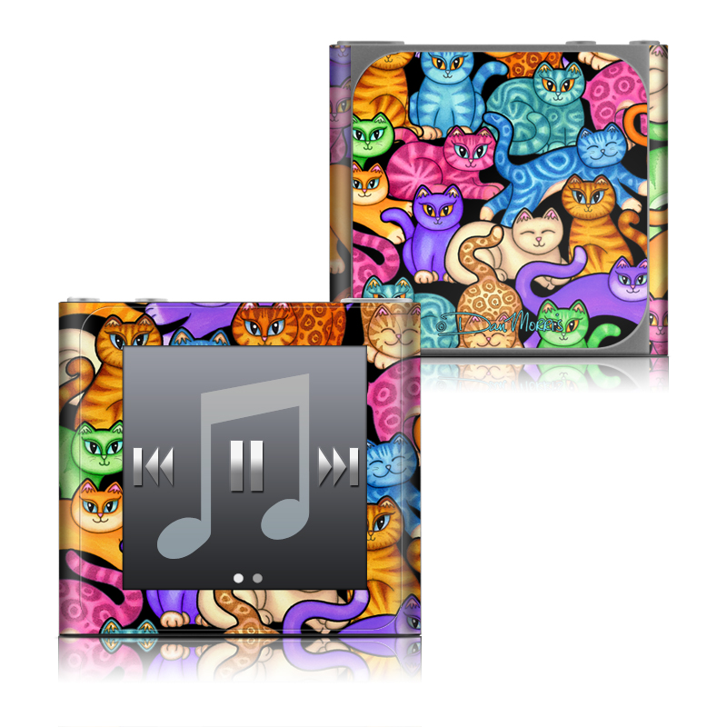 Colorful Kittens iPod nano 6th Gen Skin