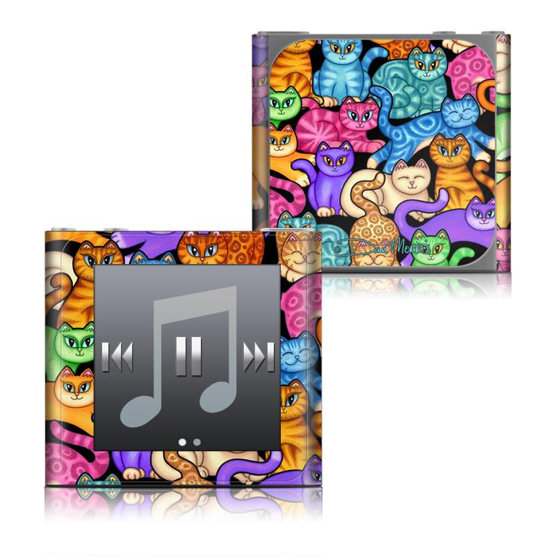Colorful Kittens iPod nano 6th Gen Skin