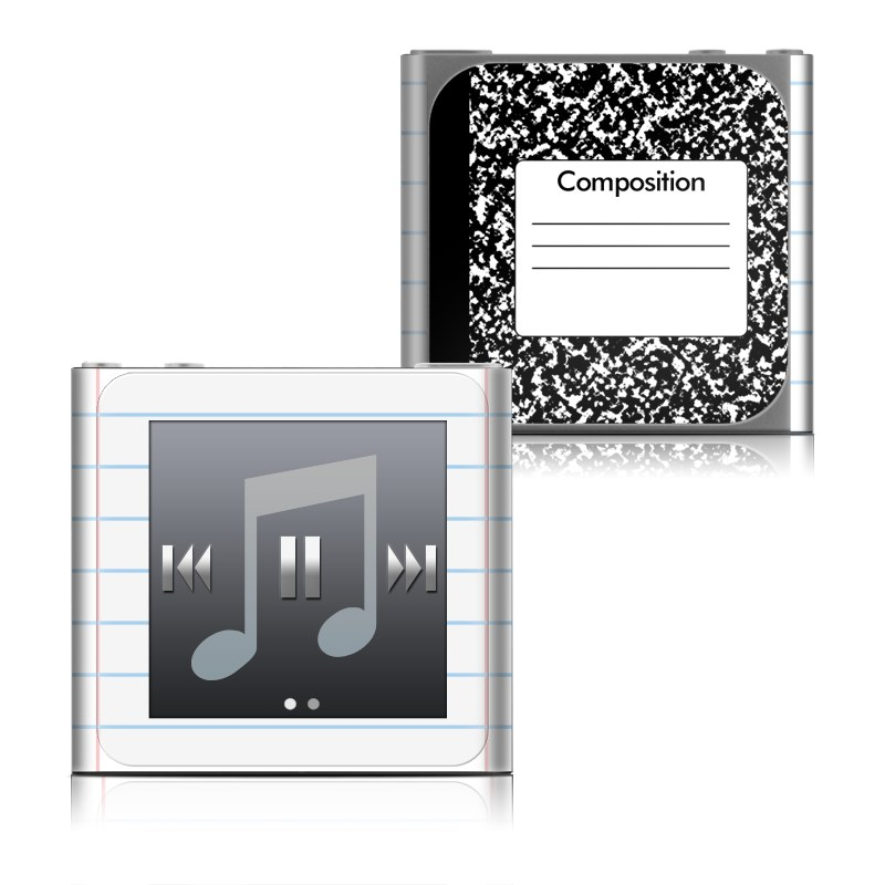 Composition Notebook iPod nano 6th Gen Skin
