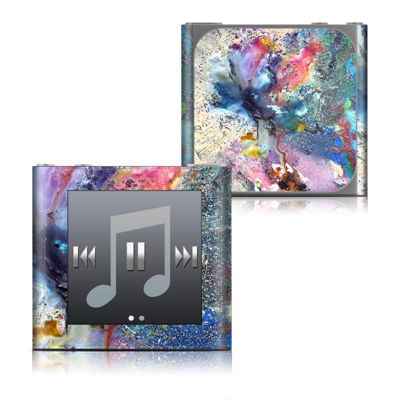 Cosmic Flower iPod nano 6th Gen Skin