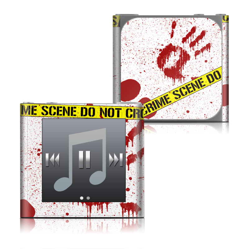 Crime Scene Revisited iPod nano 6th Gen Skin