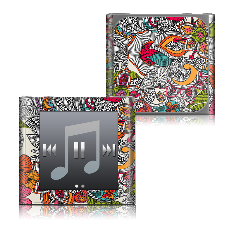 Doodles Color iPod nano 6th Gen Skin