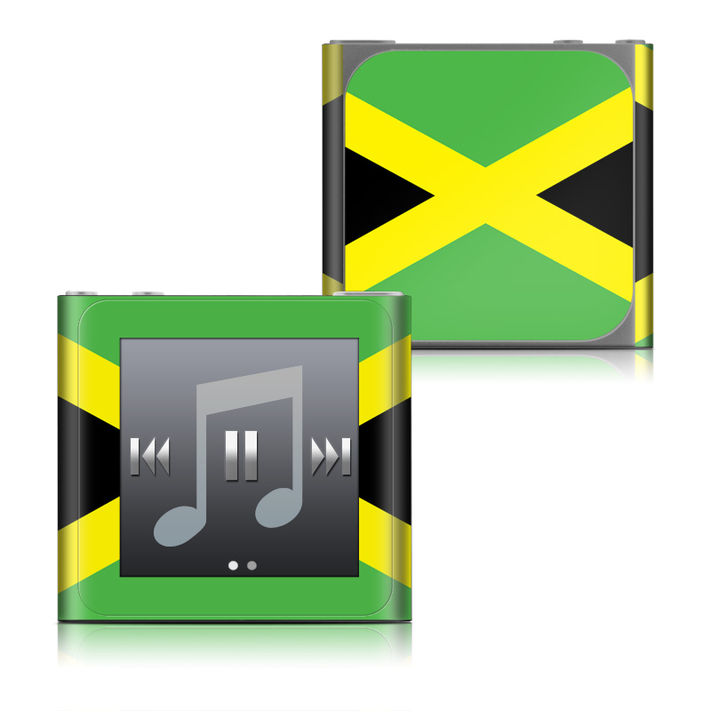 Jamaican Flag iPod nano 6th Gen Skin
