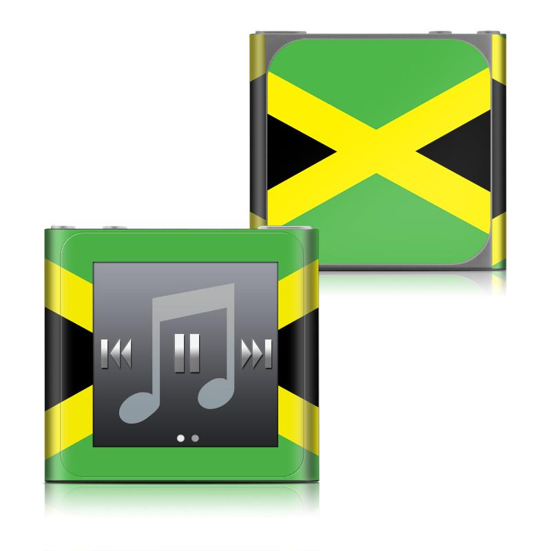 Jamaican Flag iPod nano 6th Gen Skin