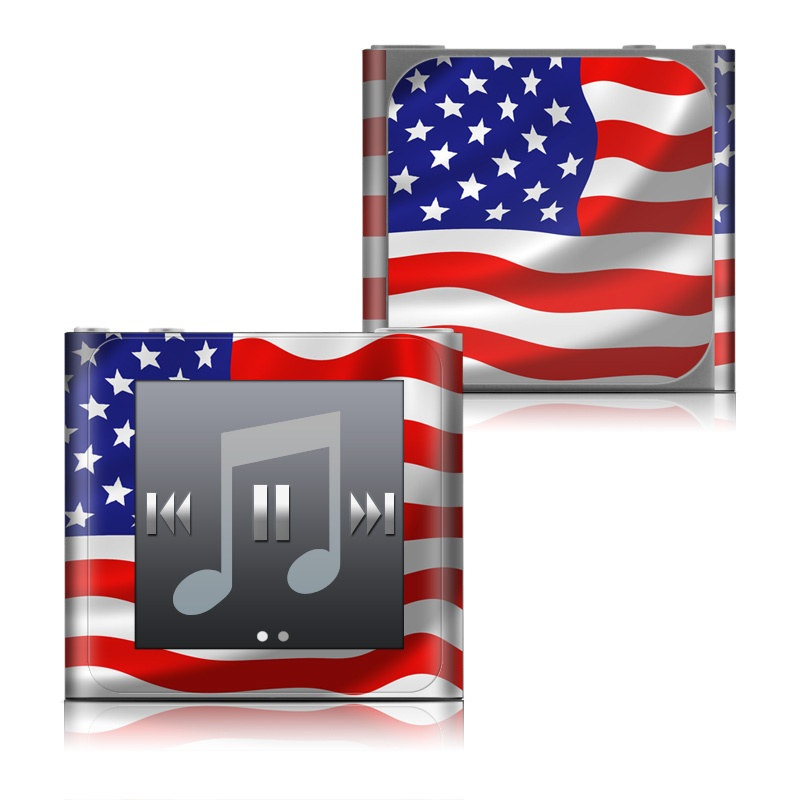 USA Flag iPod nano 6th Gen Skin