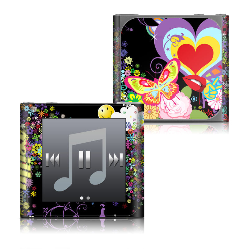 Flower Cloud iPod nano 6th Gen Skin