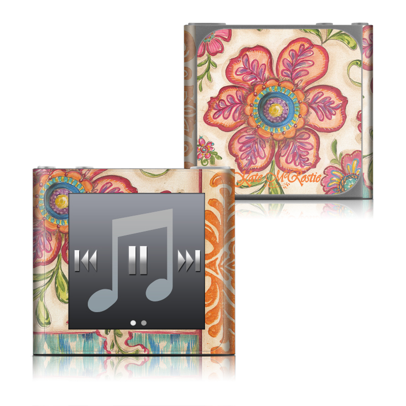 Ikat Floral iPod nano 6th Gen Skin