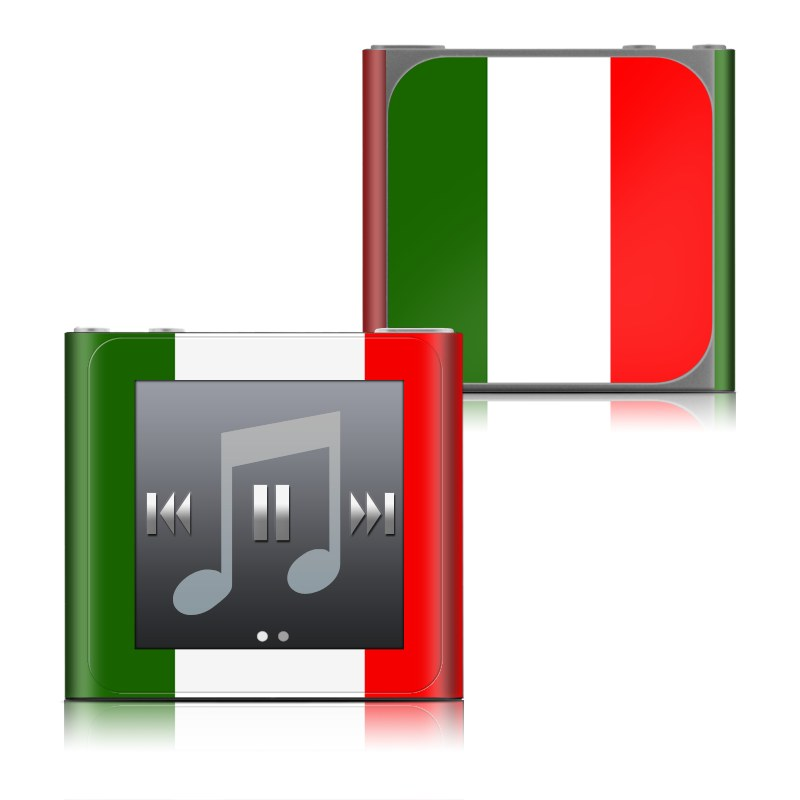 Italian Flag iPod nano 6th Gen Skin