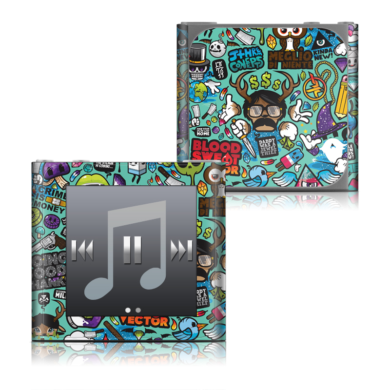 Jewel Thief iPod nano 6th Gen Skin