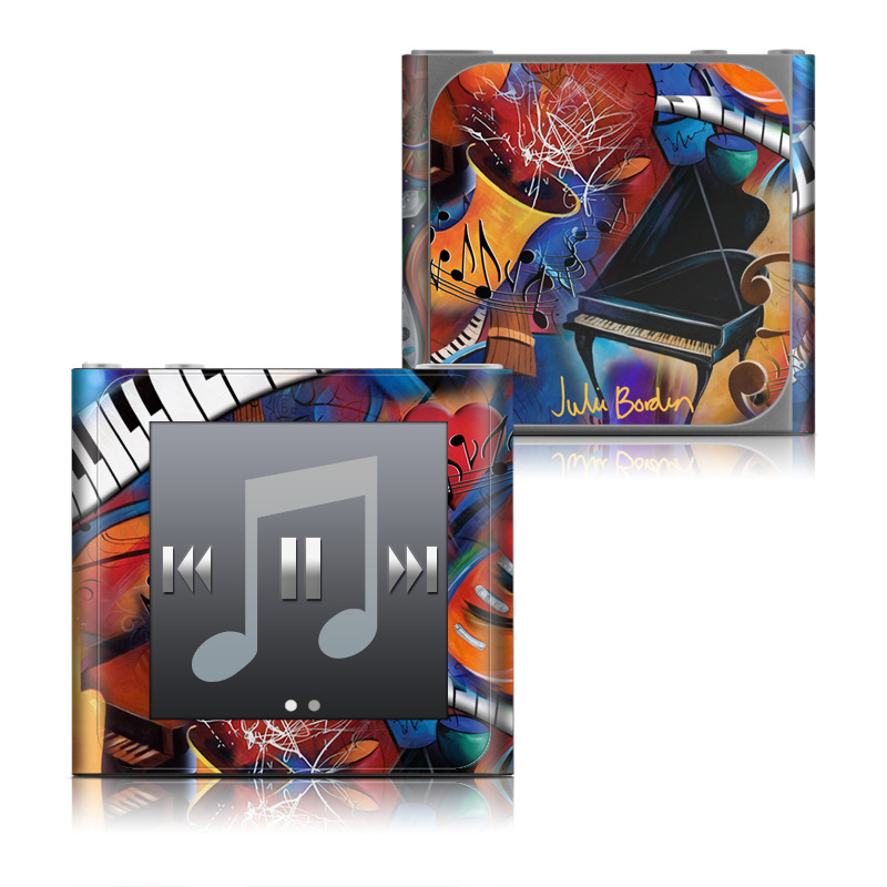 Music Madness iPod nano 6th Gen Skin