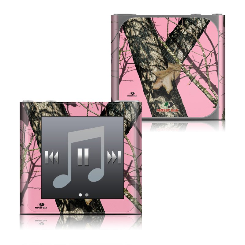 iPod nano 6th Gen Skin design of Tree, Branch, Plant, Wildlife, Woody plant, Tail, Adaptation, Squirrel, Trunk, Plant stem with pink, black, gray, green, red, purple colors