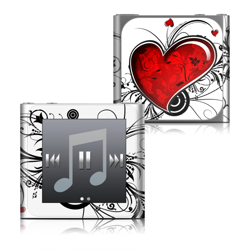 My Heart iPod nano 6th Gen Skin