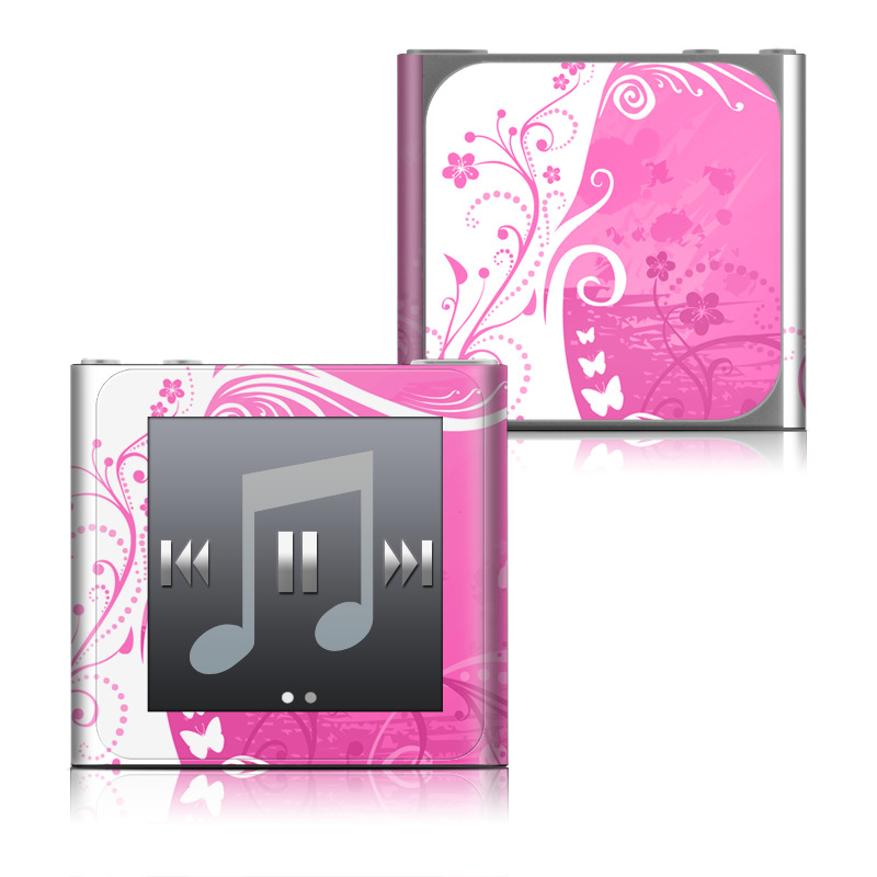 Pink Crush iPod nano 6th Gen Skin