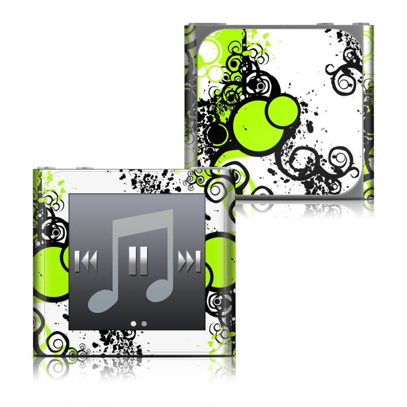 Simply Green iPod nano 6th Gen Skin