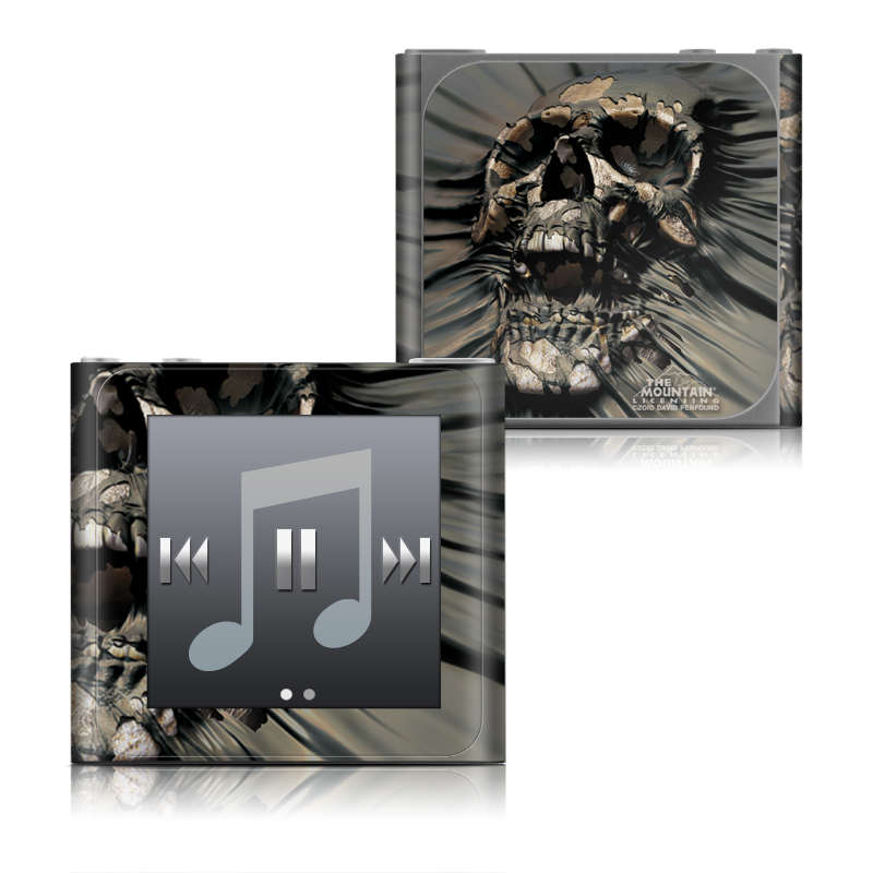 Skull Wrap iPod nano 6th Gen Skin